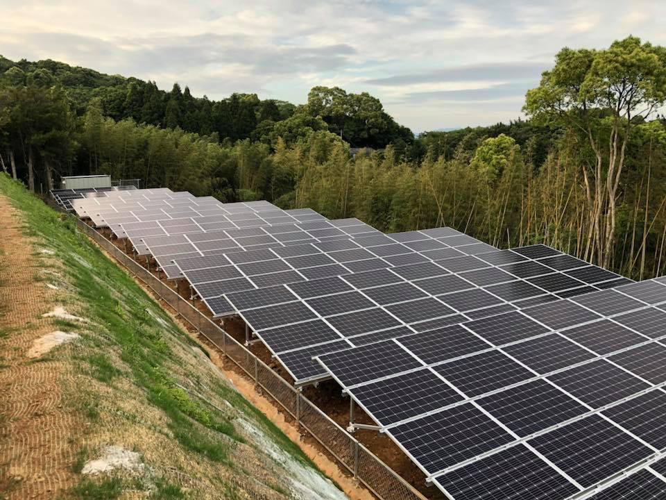 九州太陽光発電システム設置工事太陽光