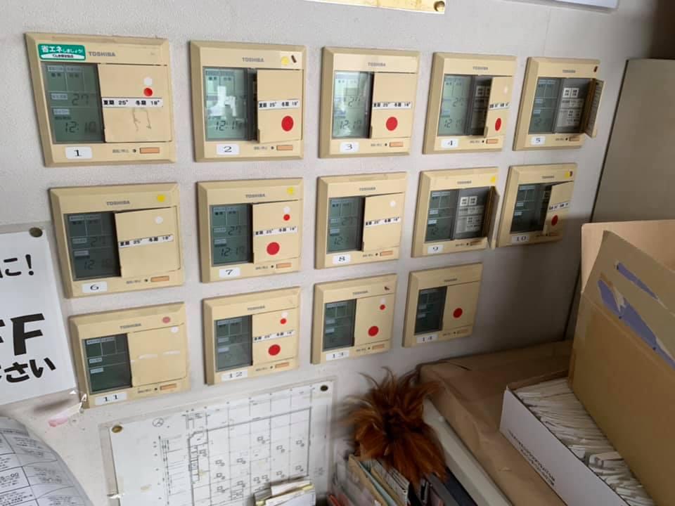 北海道ホームセンター空調電源工事北海道ホームセンター / ケーブル配線、結線