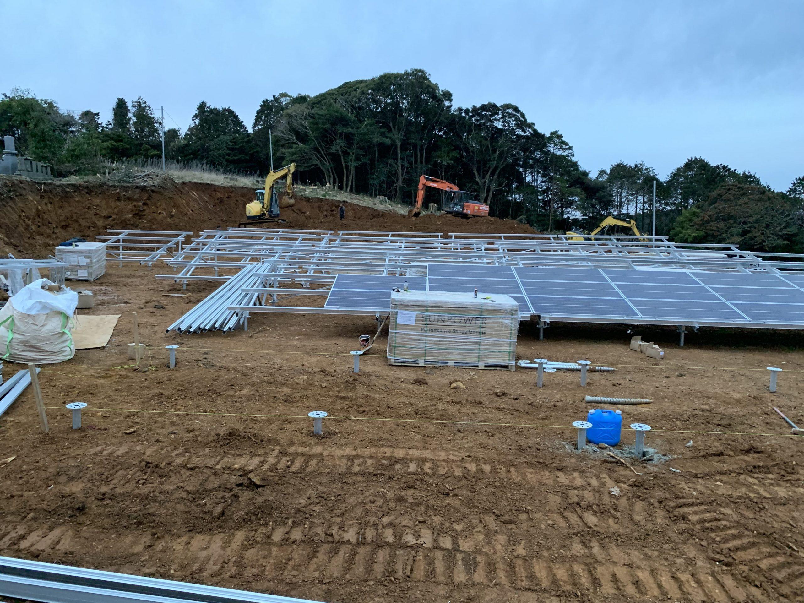 太陽光発電システム設置工事太陽光新設